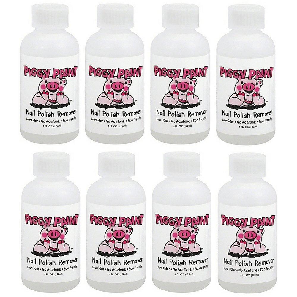 Amazon.com : Piggy Paint Nail Polish Remover, 4 Fluid Ounce : Piggy ...