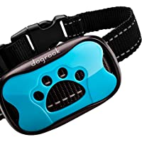 DogRook Rechargeable Dog Bark Collar - Humane, No Shock Barking Collar - w/2 Vibration & Beep Modes - Small, Medium…