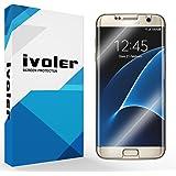 [Upgrade Version] Galaxy S7 Edge Pellicola Protettiva, iVoler Liquido Applicato 3D Copertura Completa [Anti-Sollevare] [Caso Amichevole] [Anti-Graffio] Screen Protector film per Samsung Galaxy S7 Edge