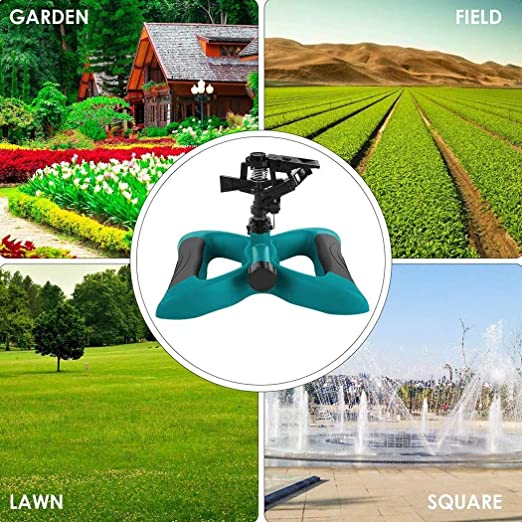 amiubo Aspersor de césped Giratorio 360°, Sistema de riego para jardín: Amazon.es: Jardín