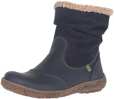 Womens N758 Soft Grain-Lux Suede Nido Short Boots El Naturalista Online Cheap Authentic dlUSiY