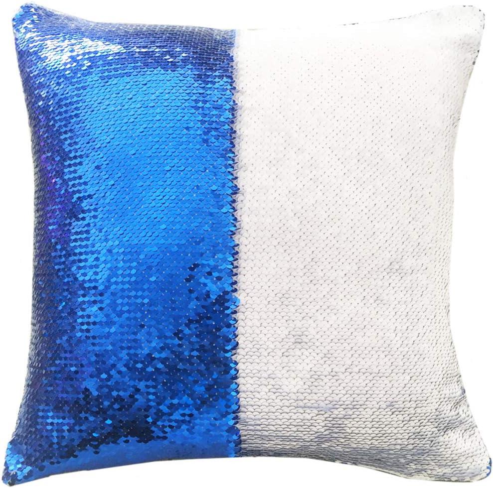 URSKYTOUS Reversible Sequin Pillow Case