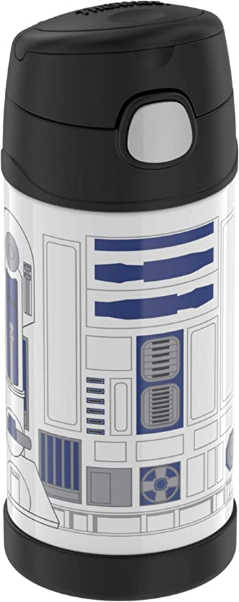 Thermos Disney R2D2 Star Wars Funtainer 12oz Insulated Bottle With Straw
