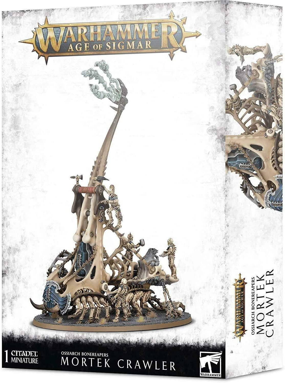 Games Workshop Warhammer 40,000: OSSIARCH BONEREAPERS MORTEK Crawler