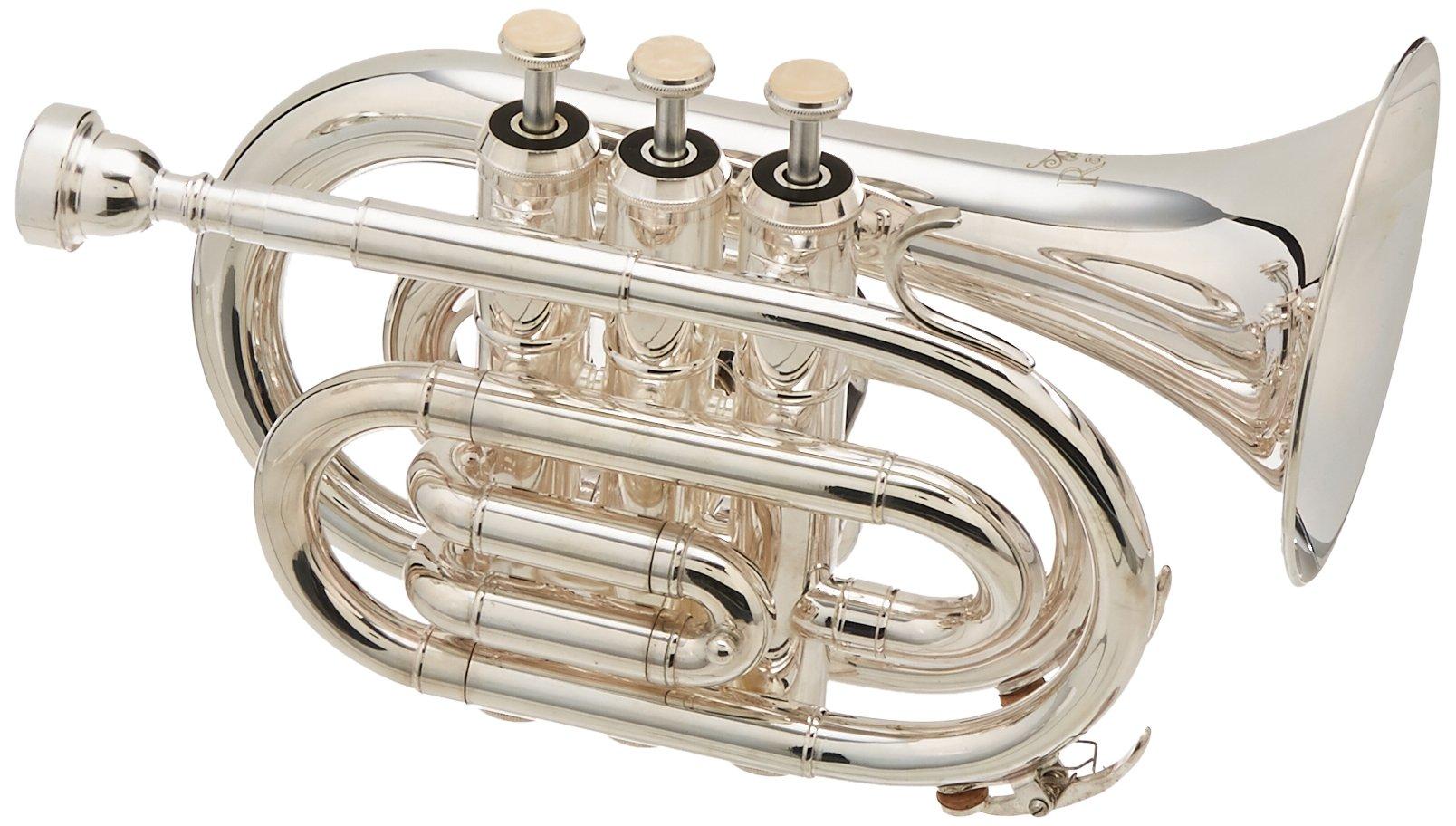 Ravel RPKT1SLVR Pocket Trumpet - Silver