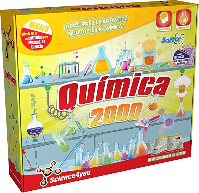 Science4you-Química 2000, joguet educatiu i científic (399372): SCIENCE FOR YOU: Amazon.es: Juguetes y juegos
