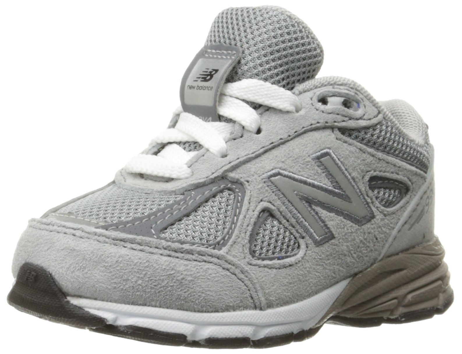 New Balance Boys' KJ990V4 Infant-K, Grey, 6 M US Toddler