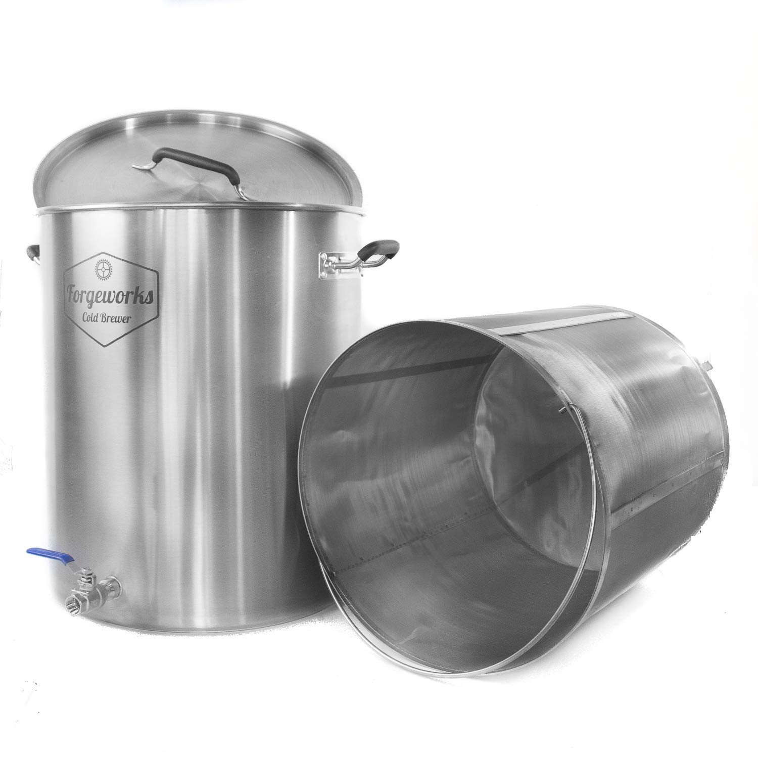 Forgeworks Cold Brewer - Commercial 20 Gallon Capacity Stainless Steel Cold Brew Vessel by Forgeworks Stainless (Image #3)