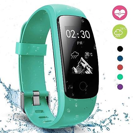 Veryfitpro Id107plus Hr Mint Green Fitness Tracker Smart Watch