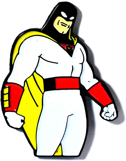 Space Ghost Coast to Coast Collectible Pendant Lapel Hat Pin