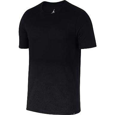 8590d599644 Nike Men's Jordan Ele Air T-Shirt Black/Dark Grey (Small), Shirts & Tees -  Amazon Canada