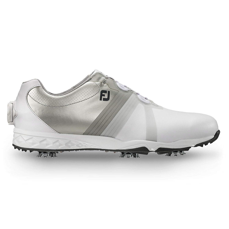 [フットジョイ] ゴルフシューズ メンズ 58129J 11.5 D(M) US ホワイト/シルバー B01LG7FY74