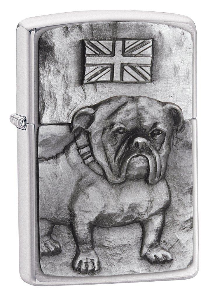 Zippo Bulldog Emblem - Calentadores de Emergencia, Color Plateado 200BULL