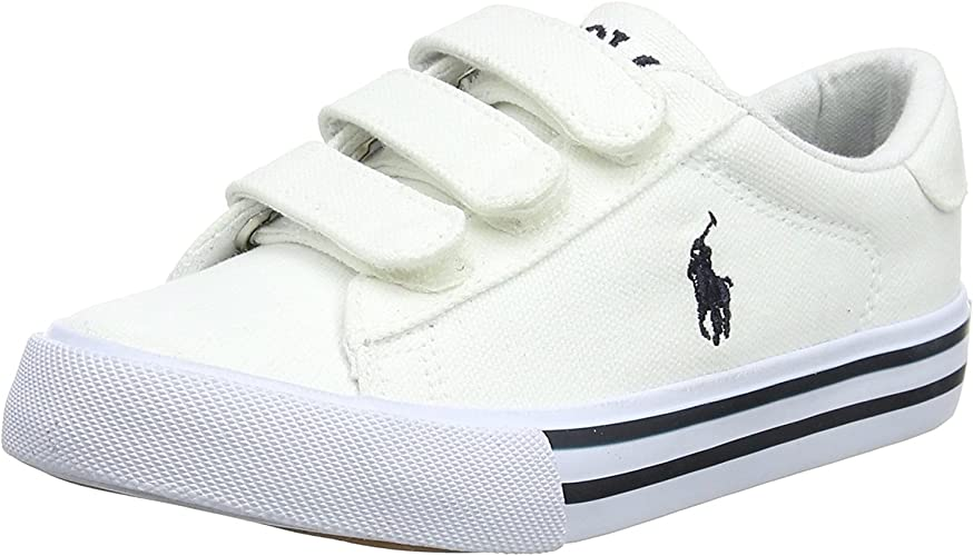 Polo Ralph Lauren Easten EZ Blanco Tela 33 EU: Amazon.es ...