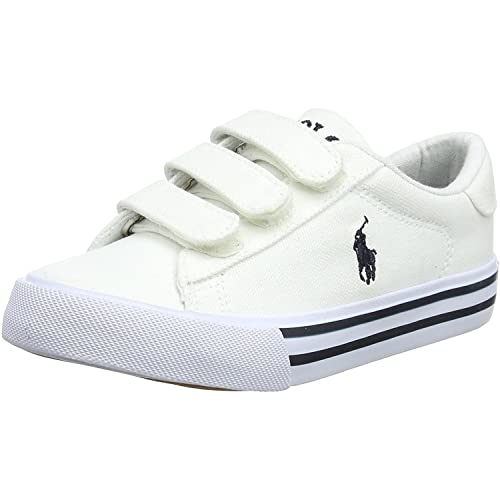 Polo Ralph Lauren Easten EZ Blanco Textil 33 EU: Amazon.es: Zapatos y complementos