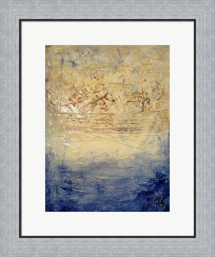 Amazon.com: Silent Avenger by Natasha Wescoat Framed Art Print Wall ...
