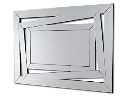 Specchi Moderni Da Parete.Dekoarte E034 Specchio Moderno Da Parete Decorativo Con Forma