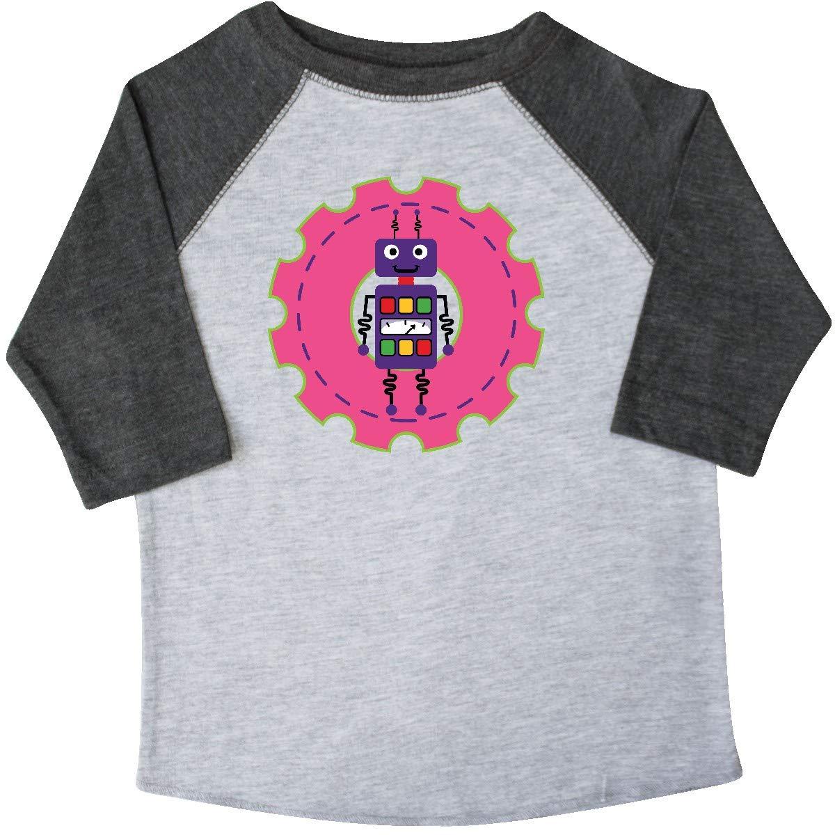 inktastic Robot Girls Science Engineering Toddler T-Shirt