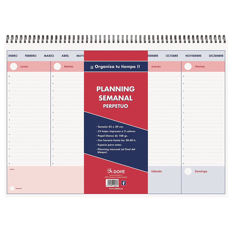 DOHE 12575–Planning da tavolo perpetuo