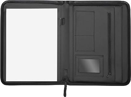 Herlitz 10549822 - Carpeta para congresos, color negro: Amazon.es: Oficina y papelería