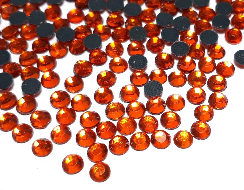 da incollare con Ferro da Stiro Hotfix Strass 5 mm SS20 qualit/à AAA Arancione Strass Strass autoadesivi Perle 493 Perlin 14400 Pezzi
