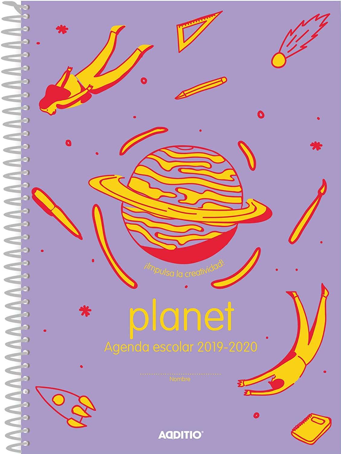Agenda Planet 2019-20 Additio para Educación Primaria