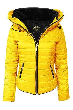 Cexi Couture - Chaqueta - para mujer amarillo Mostaza 44 ...