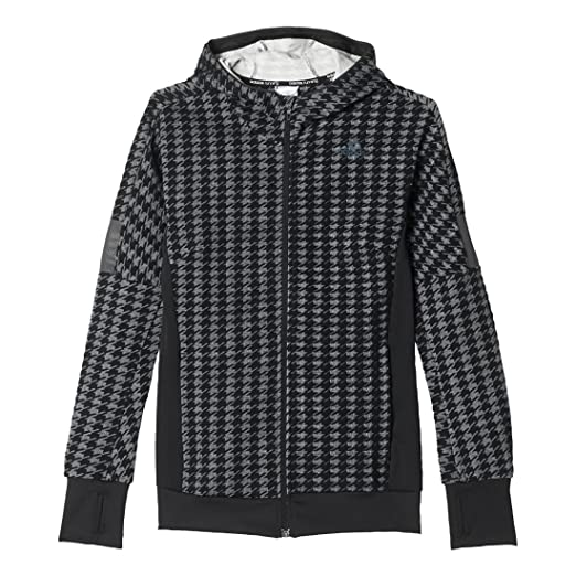 1104bf857 Amazon.com: adidas Ultra Energy Womens Houndstooth Jacket #AP8172: Clothing