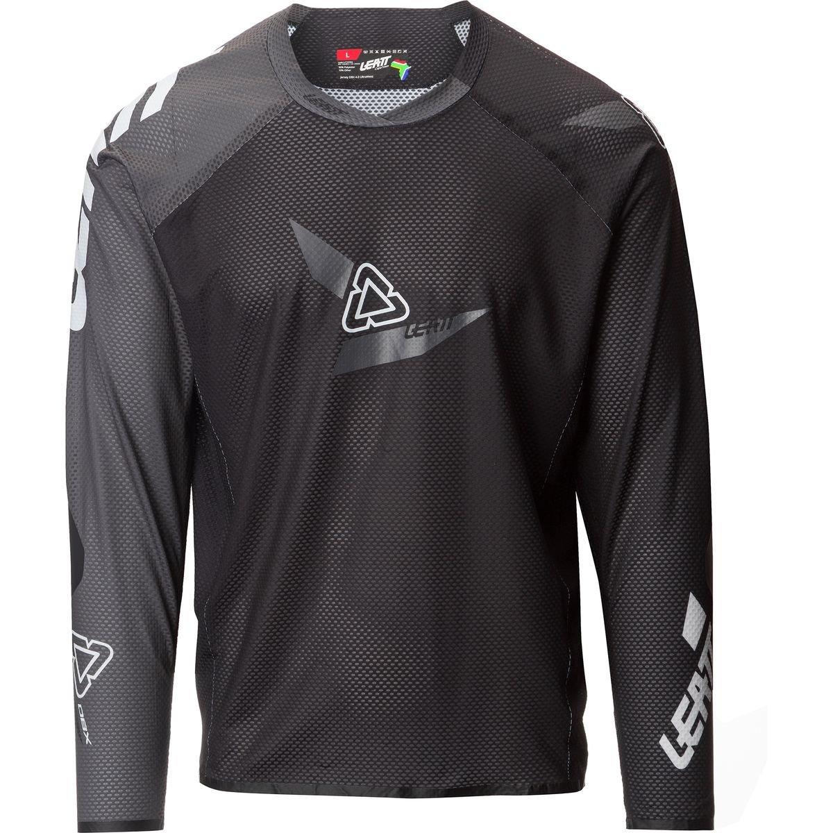Leatt DBX 4.0 UltraWeld Mens Bike Sports BMX Jersey - Black/Grey/X-Large