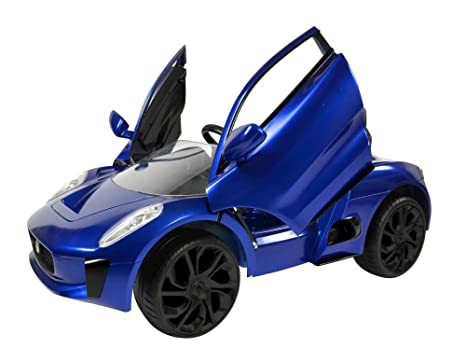 Buy Toyhouse Cx75 Officially Licensed Jaguar Ride On Car Blue