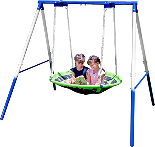 Sportspower Deluxe Outdoor Saucer Swing