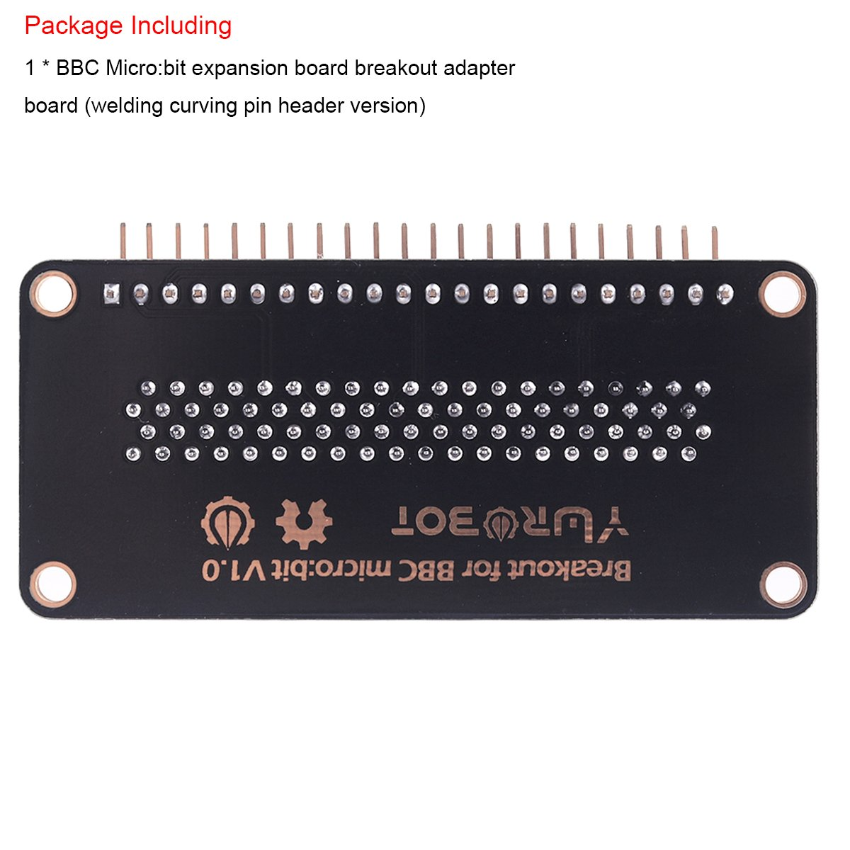 Makerfocus Bbc Micro Bit Expansion Board Breakout Machine Circuit Buy Boardwelding Adapter Convenient To Lead All The Interface With Welding Curving Pin