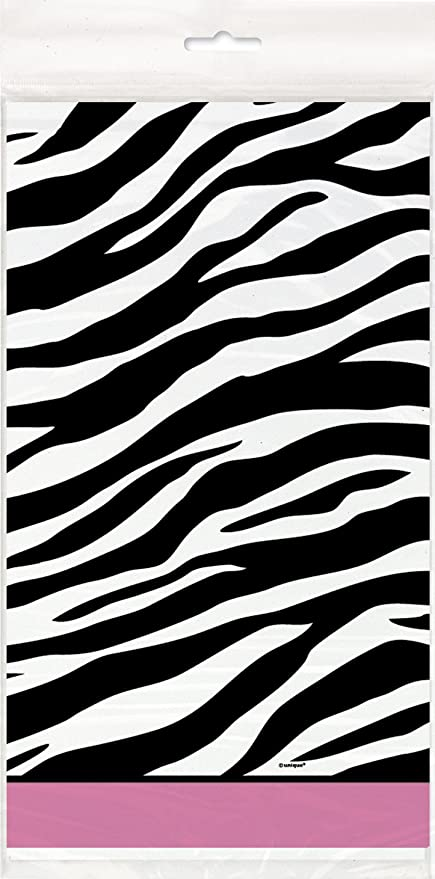 Amazon.com: Zebra Print Plastic Tablecloth, 84\