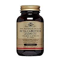 Solgar Oceanic Beta-Carotene 25,000 IU, 90 Softgels - Healthy Vision, Skin & Immune...