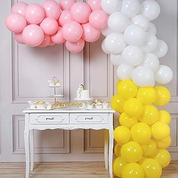 Princesse Ballons 10 x Rose /& Clair Ballons Filles Fête D/'Anniversaire Décorations