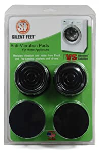 Silent Feet - Anti-Vibration Pads for Washing Machines and Dryers