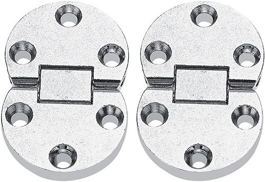 2 Unids Bisagras para armarios, 54x35x7mm Aleación de Zinc Table ...