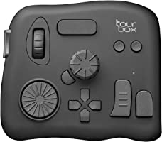 Tourbox Photo and Video Editing Console, Advanced Controller with Customized Creative inputs to Simplify and optimize...