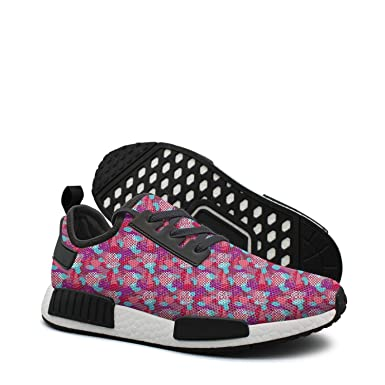 low priced 79bcc 96f37 Amazon.com: Funny pink camo womens running shoe nmd xr1 pk ...