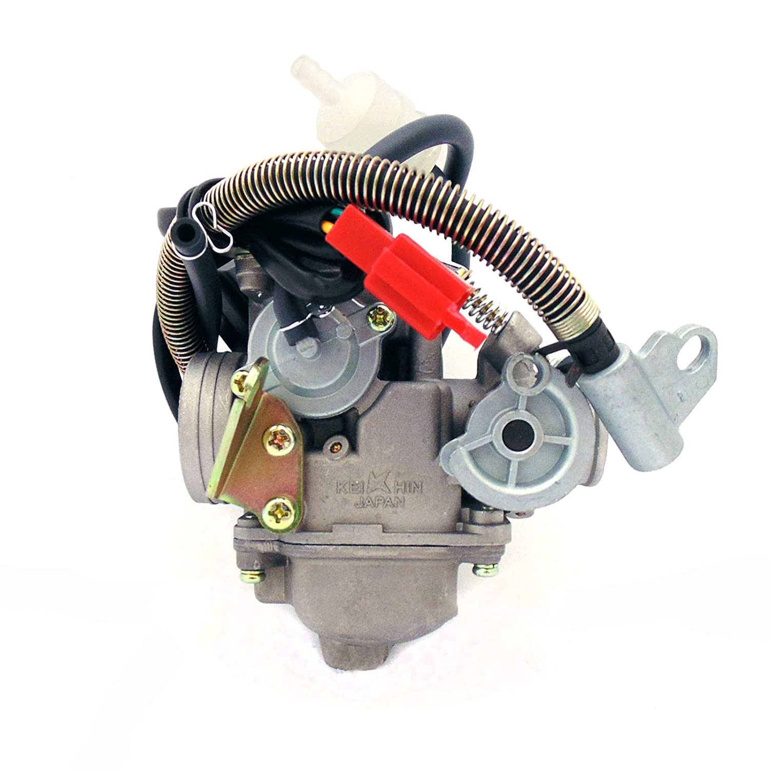 Carburetor Assy 150cc 125cc 4 Stroke Electric Choke Engine Diagram For Honda Metropolitan Moped Motorcycle Scooter Automotive