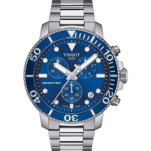 Tissot Seastar 1000 T120.417.11.041.00 Cronógrafo para Hombres: Amazon.es: Relojes