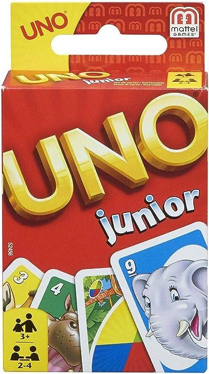 Mattel Games UNO Junior, juego de cartas (Mattel 52456): Amazon.es ...