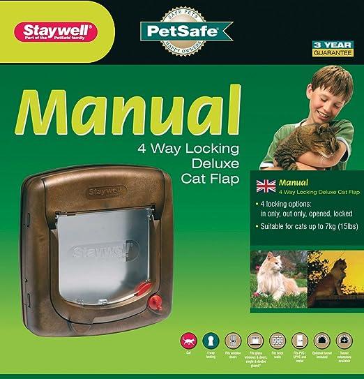 11 opinioni per Staywell- Chiusura gatto patta con 4 modalità, finitura effetto legno