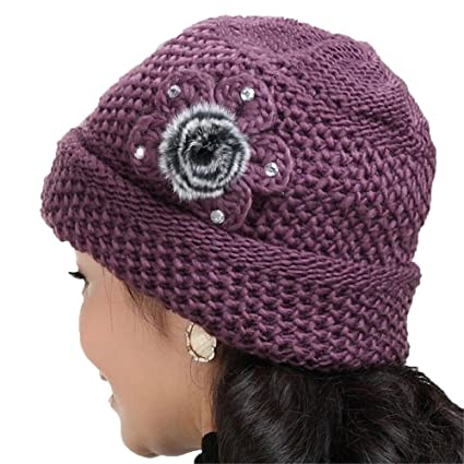 Image Unavailable. Image not available for. Color  Dig dog bone Women s  Knit Hat ... 046874650
