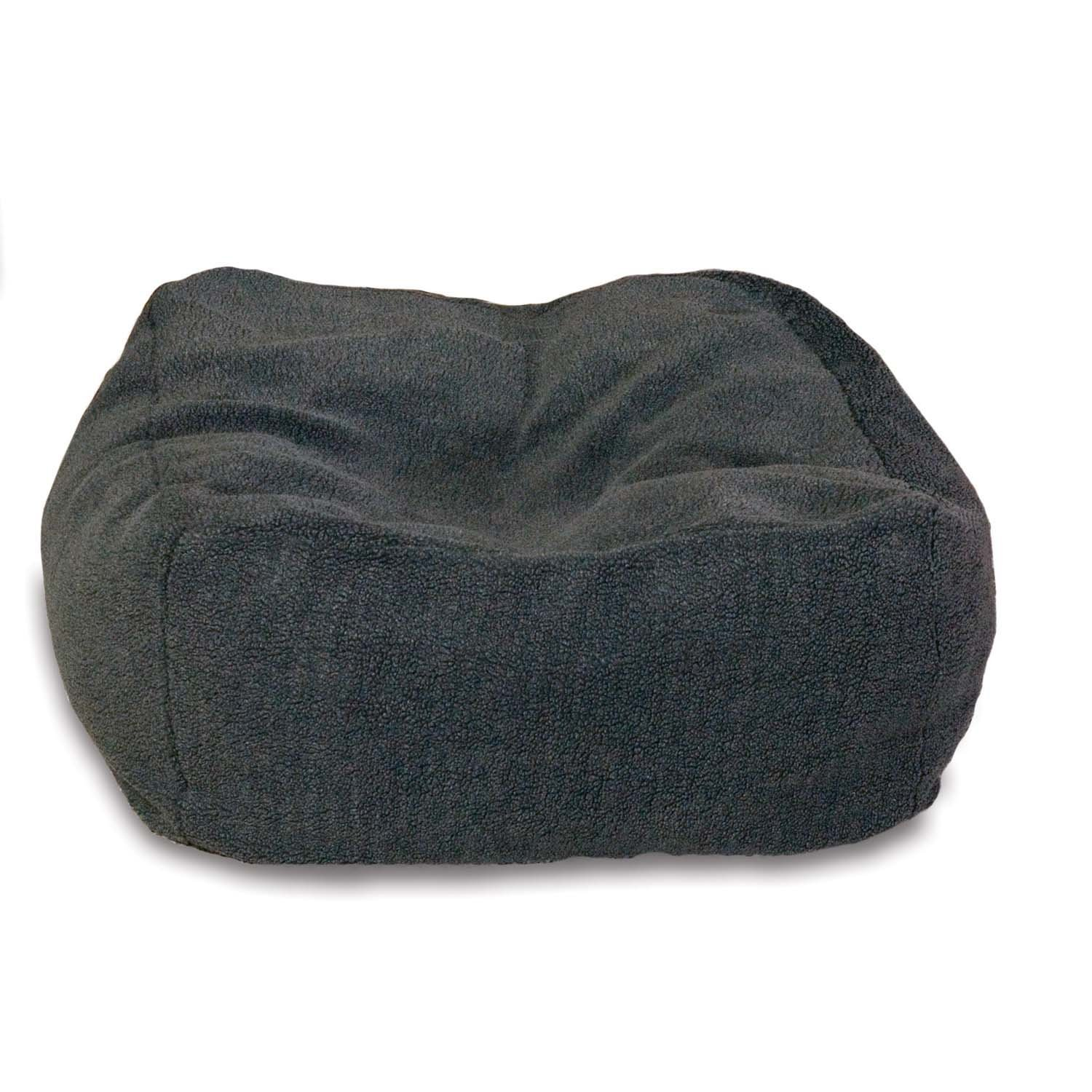K&H Pet Products Cuddle Cube Pet Bed Large Gray 32'' x 32''