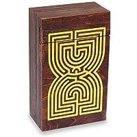 Logica Juegos Art. Cofre Laberinto - Rompecabezas de Madera - Caja Secreta - Dificultad 5/6 Increíble - Colección…