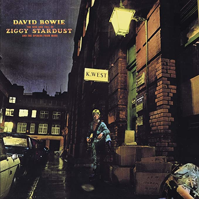 The Rise And Fall Of Ziggy Stardust And The Spiders From Mars [CD] |  Amazon.com.br