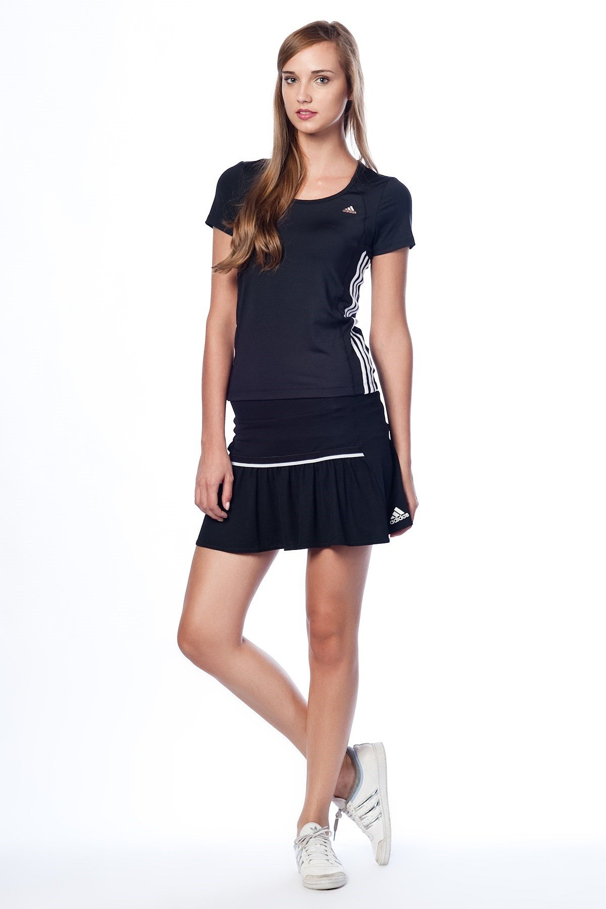 adidas Womens Sequential Core Tennis Skort Black (X-Large) Z20515