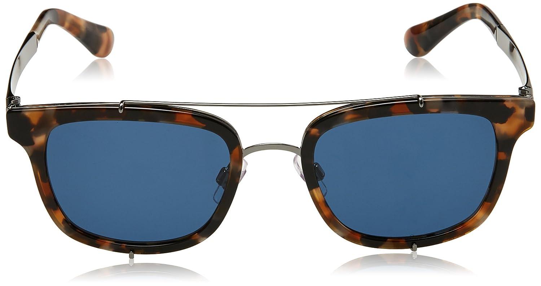 Dolce & Gabbana Herren Sonnenbrille 0DG2175 314580, Blau (Bluette Havana/Blue), 51