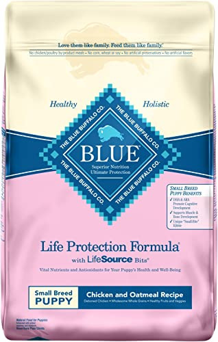 Blue Buffalo Life Protection Formula Small Breed Puppy Dog Food Natural Dry Dog Food